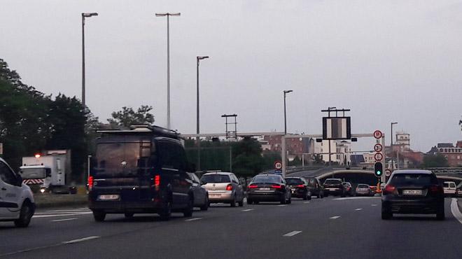 Trois tunnels fermés à Reyers: heure de pointe normale ce matin,
