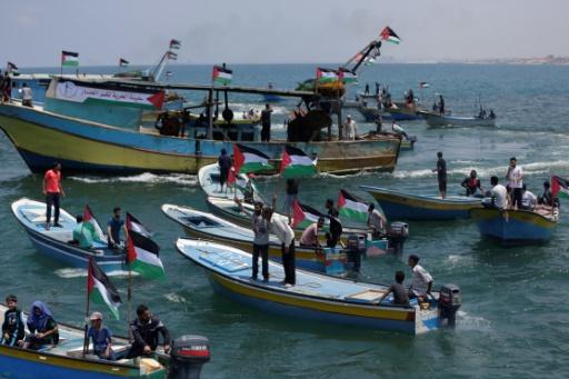 Des bateaux palestiniens partent de Gaza pour dénoncer le blocus israélien