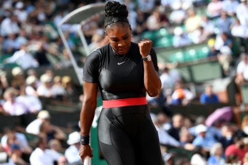 Roland-Garros: retour gagnant pour Serena Williams