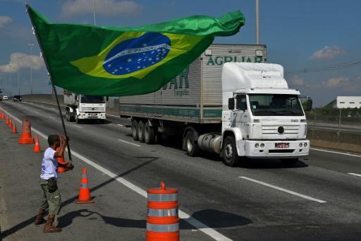 La grève des routiers au Brésil en perte de vitesse