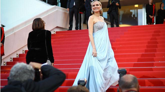 Diane Kruger cachait un ÉNORME secret sous sa robe lors du festival de Cannes (photos)