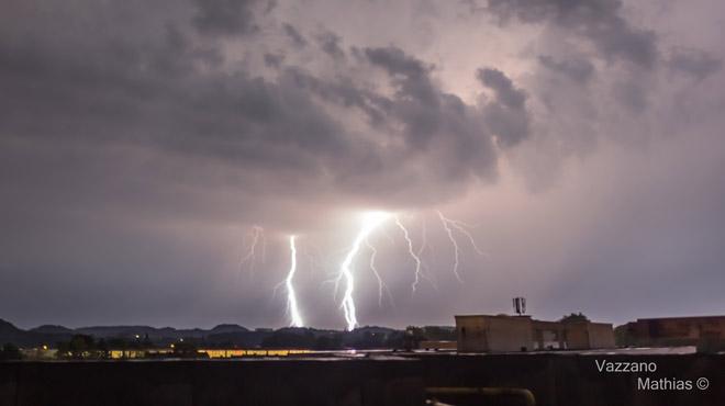 Météo: retour des orages demain matin avec grêle et pluies intenses en certains endroits