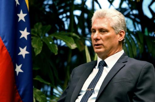 Venezuela: 1er déplacement du Cubain Diaz-Canel chez son allié Maduro