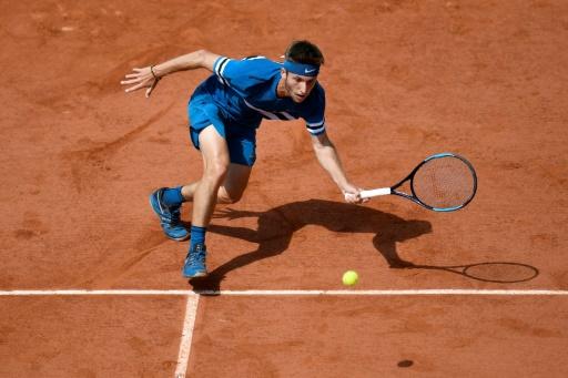 Roland-Garros: Moutet, le métier qui rentre