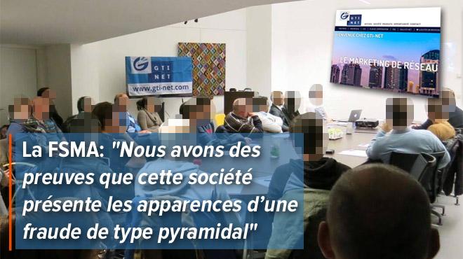 GTI-Net, fondé par deux Belges, nouveau système pyramidal mondial déguisé en marketing de réseau?