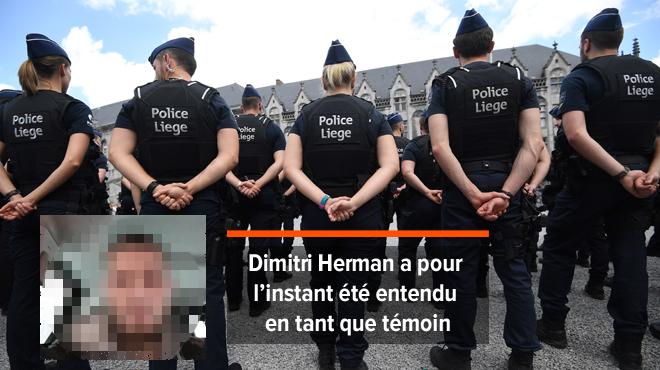 Dimitri Herman, le frère du tueur de Liège, interrogé par la police