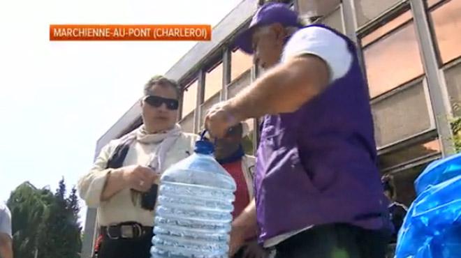 Eau non potable dans la région de Charleroi: la situation pourrait être rétablie ce vendredi