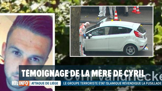 La maman de Cyril, victime du tueur de Liège, témoigne:
