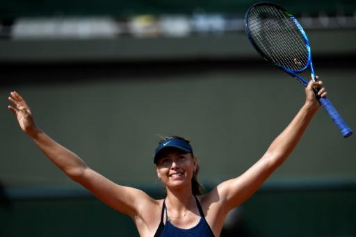 Roland-Garros: Sharapova a rendez-vous avec Karolina Pliskova
