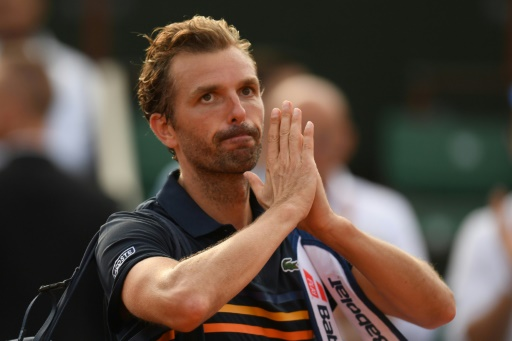 Dernier match à Roland-Garros pour Benneteau, vaincu par Del Potro