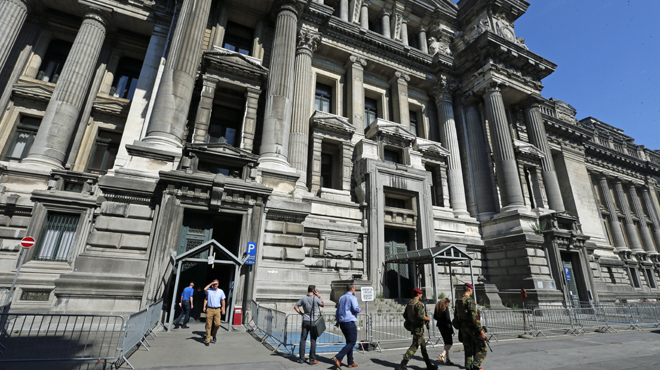 Le palais de justice de Bruxelles évacué ce vendredi matin suite à une alerte à la bombe
