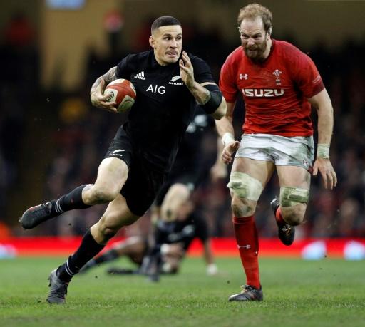 Rugby: le All Black Sonny Bill Williams forfait pour la tournée de la France
