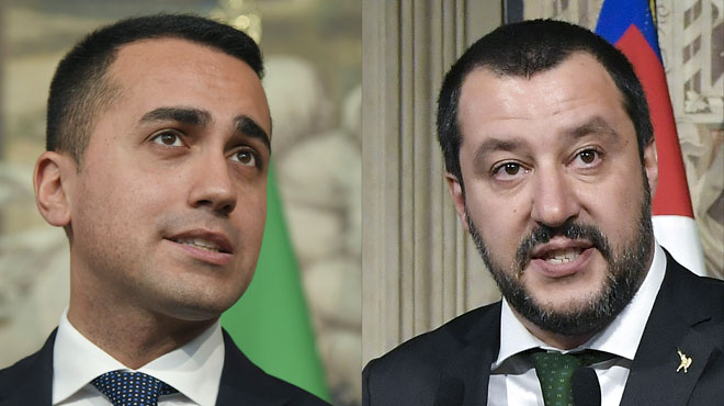 Les populistes s'installent au pouvoir en Italie: Salvini souhaite