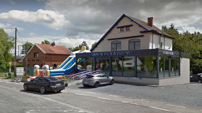 Des malfrats armés braquent la friterie de la Drève à Thuin: ils voulaient même partir avec la voiture du gérant