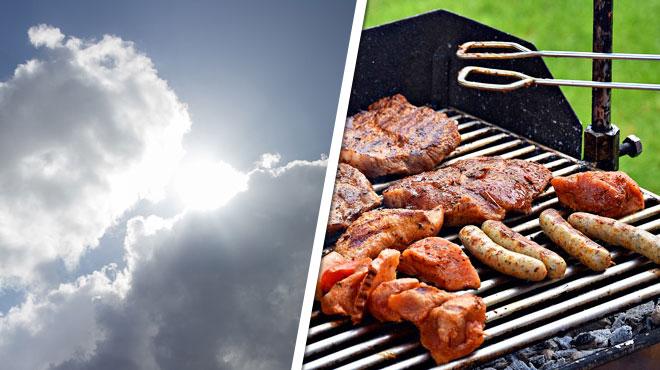 La météo ce week-end: le temps commence à se calmer, un barbecue est toujours possible mais il faut bien choisir son jour