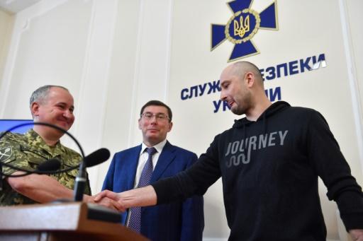 Affaire Babtchenko: Kiev assure avoir découvert une liste de 47 cibles