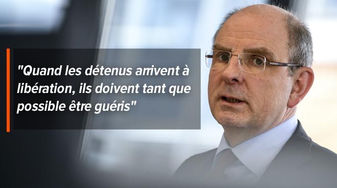 Le ministre de la Justice veut instaurer un centre d'observation psychiatrique pour les détenus: