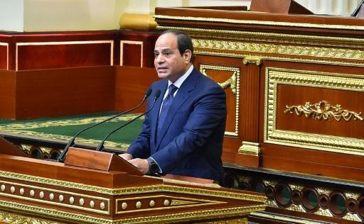 Coup d'envoi d'un 2e mandat pour le président égyptien Sissi