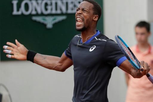 Roland-Garros: Monfils cède face à Goffin après 4 balles de match