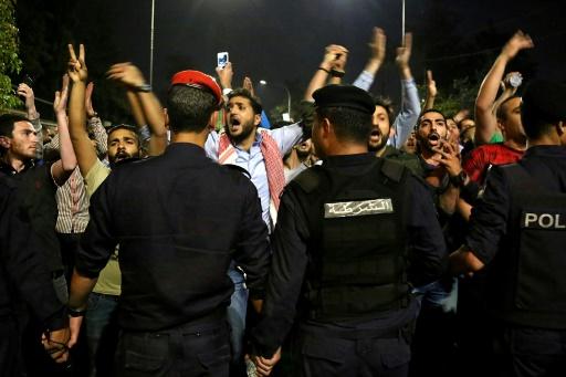 Jordanie: nouvelles protestations nocturnes contre un projet de loi fiscal