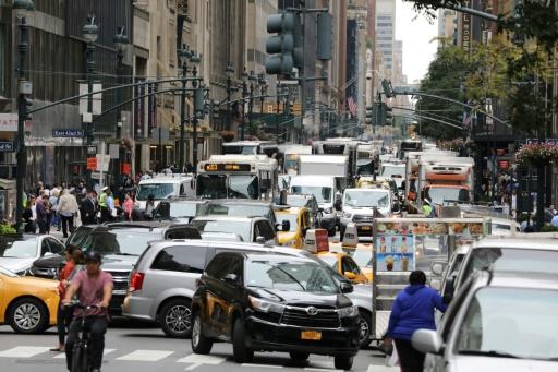 A New York, les chauffeurs de VTC pestent contre l'envolée de l'essence