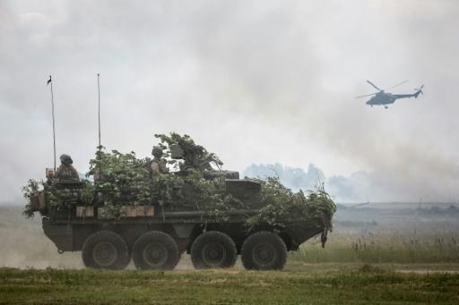 L'Armée américaine inaugure un exercice multinational sur le flanc oriental de l'Otan