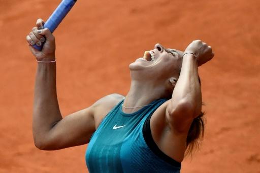 Roland-Garros: premier quart pour Keys, qui met fin au joli parcours de Buzarnescu