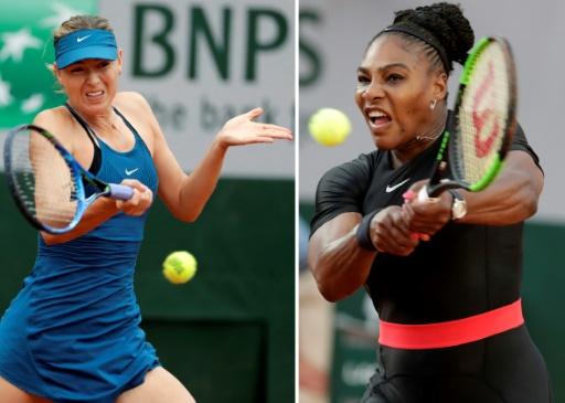 Roland-Garros: Serena-Sharapova, les meilleures ennemies