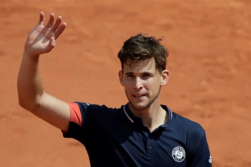 Roland-Garros: Thiem écarte Nishikori et rejoint Zverev en quarts