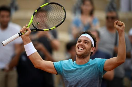 Roland-Garros: la surprise Cecchinato en quarts face à Djokovic