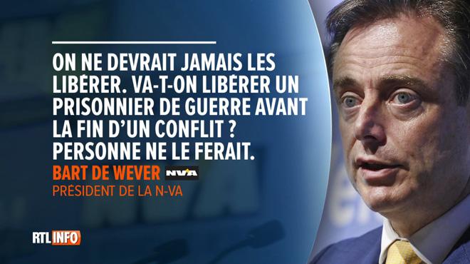 Bart De Wever veut maintenir en détention les prisonniers radicalisés: les membres du gouvernement divisés sur la question