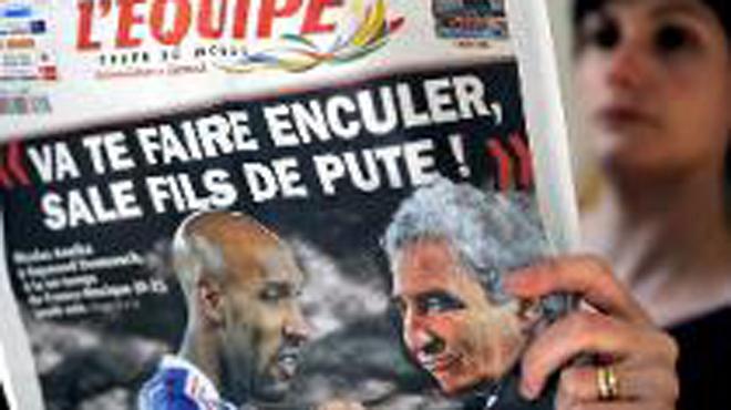 Mondial 2010 : Domenech dévoile ce qu'Anelka lui a vraiment dit
