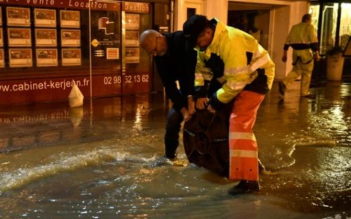 Morlaix inondé :