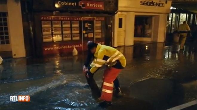 La ville de Morlaix, en Bretagne, complètement inondée en seulement 30 minutes