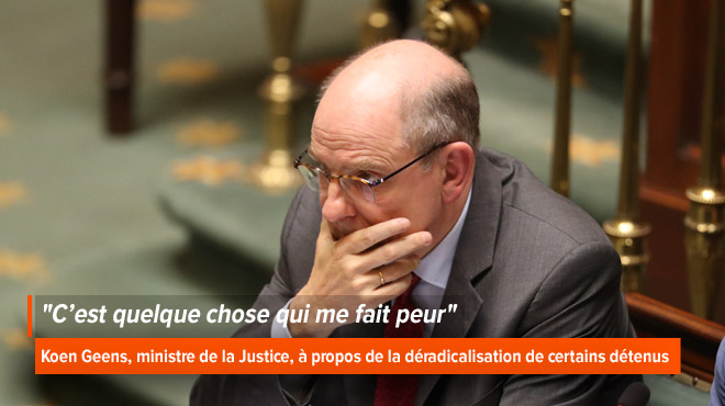 Tuerie de Liège: Koen Geens impuissant face aux détenus radicalisés ?