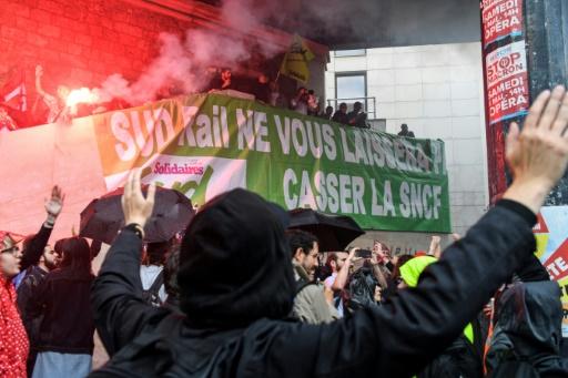 SNCF: SUD-Rail alerte Macron sur les risques psycho-sociaux de la réforme
