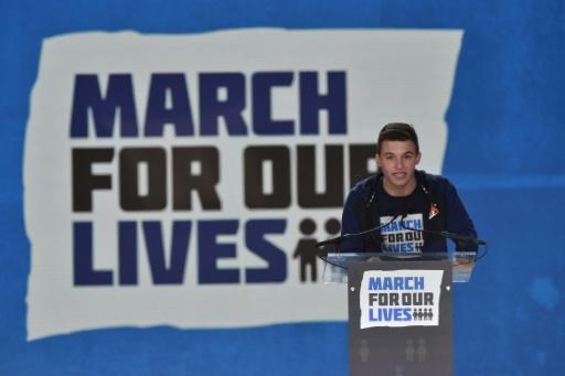 USA: les lycéens de Parkland en tournée contre la NRA