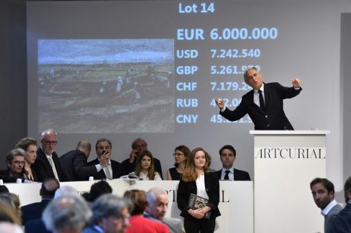 Un Van Gogh vendu aux enchères à Paris à plus de 7 M d'euros