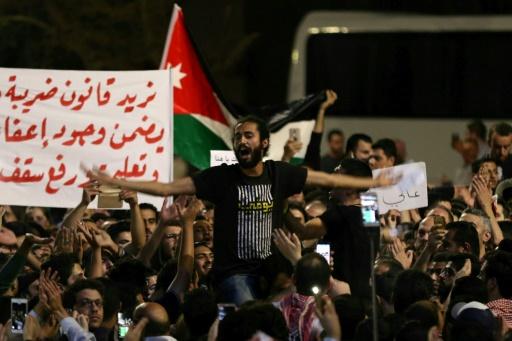 Contestation en Jordanie: le roi met en garde contre un saut