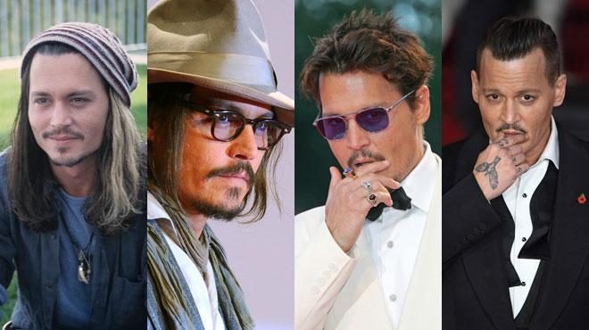 Johnny Depp: 30 années de transformation physique en images (photos)