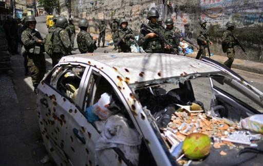 Brésil: plus d'un demi-million d'homicides en dix ans