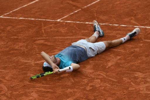 Roland-Garros: la surprise Cecchinato plombe le moral de Djokovic