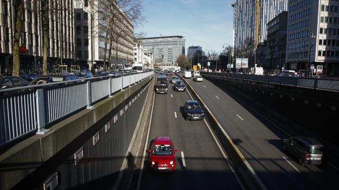 Un accident s'est produit dans la petite ceinture de Bruxelles: le pronostic vital de la victime est engagé