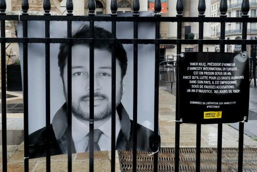 Amnesty appelle à libérer son représentant en Turquie détenu depuis un an