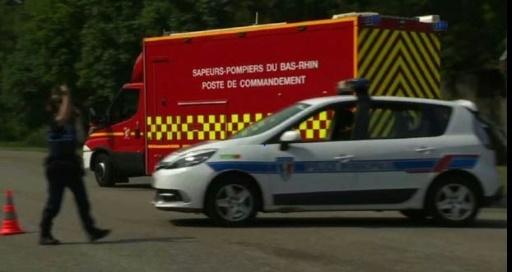 Explosion d'un silo à grains à Strasbourg: trois blessés en urgence absolue