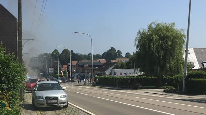 Un accident avec un véhicule de police fait deux blessés légers à Braine-l'Alleud