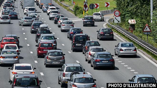 Circulation très compliquée sur le ring de Bruxelles à cause de 3 accidents: ça se normalise