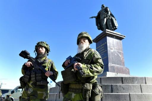 La Suède rappelle 22.000 réservistes le jour de sa fête nationale