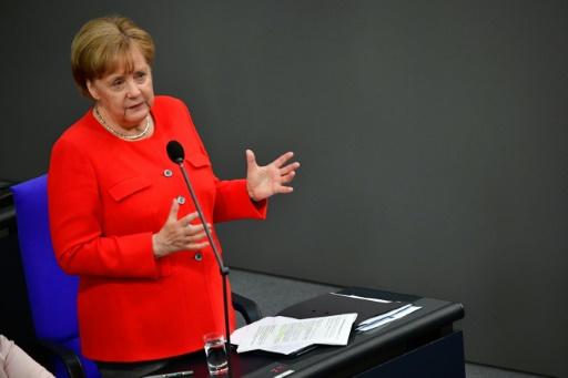 Merkel prédit un G7 de