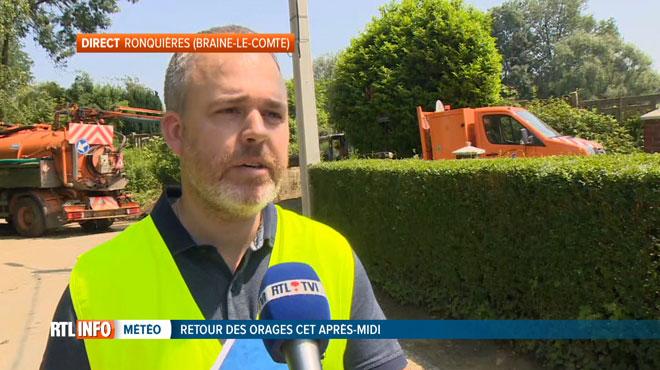 Nouvelle alerte aux orages, les habitants de Ronquières s'inquiètent: